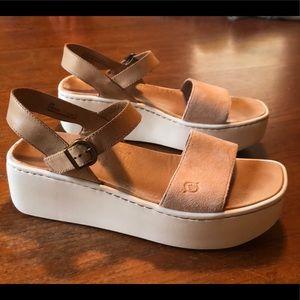 6a42c7b2809 Born Shoes - Born Breaker Platform Sandals